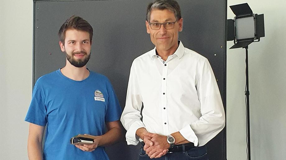 Gewinner des Publikumspreis ist das Projekt «Berechnung PV-Anlage Verbindungsbau».